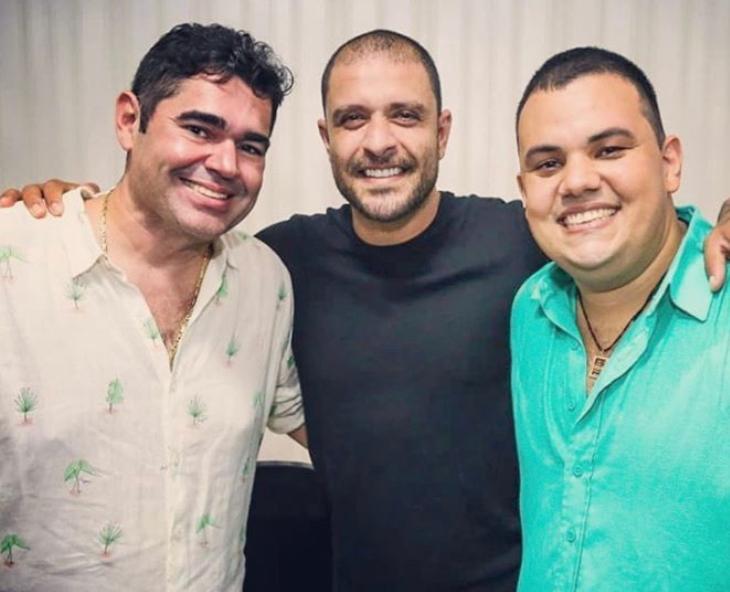 Everaldo, Diodo e André da Mata: samba para alegrar nosso verão