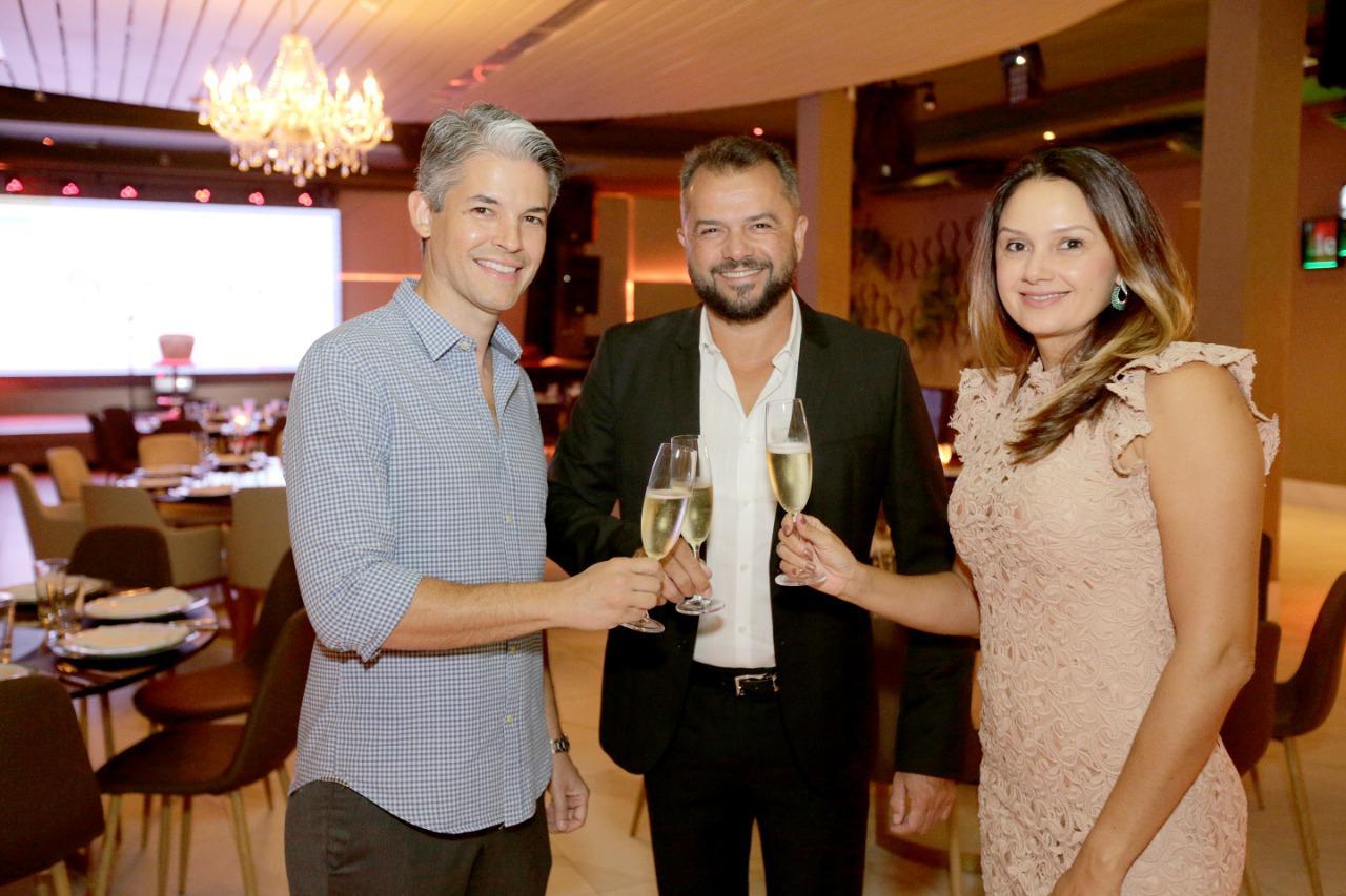 Francisco Nunes, Betinho Costa e Raissa Diniz, donos do sucesso da plataforma no RN